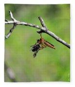 Bug Eat Bug Fleece Blanket