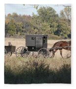 Buggy And Wagon Fleece Blanket