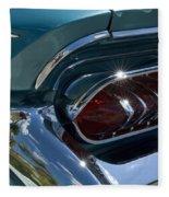 Buick Electra Tail Light Assembly Fleece Blanket