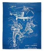 Bulletproof Patent Artwork 1968 Figure 15 Fleece Blanket