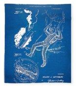 Bulletproof Patent Artwork 1968 Figures 16 To 17 Fleece Blanket