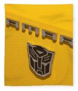 Bumble Bee Logo-7909 Fleece Blanket