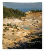 Bumpass Hell Fleece Blanket