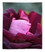 Burgundy Velet Fleece Blanket