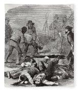 Burying The Dead After John Browns Fleece Blanket