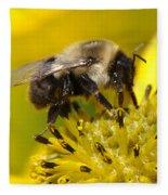 Busy Bee Fleece Blanket