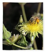 Busy Bee Fleece Blanket
