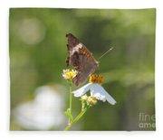 Butterfly 3 Fleece Blanket