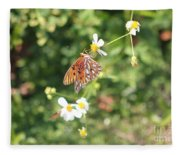 Butterfly 46 Fleece Blanket
