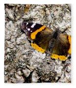 Butterfly Bark Fleece Blanket
