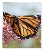Butterfly Beauty - Monarch IIi Fleece Blanket