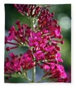Butterfly Bush Fleece Blanket