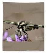 Butterfly Closeup Fleece Blanket