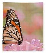 Butterfly Garden Iv Fleece Blanket