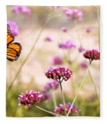 Butterfly - Monarach - The Sweet Life Fleece Blanket