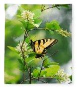 Butterfly Tiger Swallow Fleece Blanket