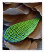 Butterfly Wing Scale Sem Fleece Blanket