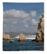 Cabo San Lucas Fleece Blanket