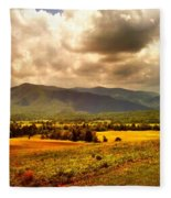 Cades Cove Fleece Blanket