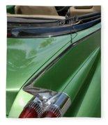 Cadillac Tail Fins Fleece Blanket