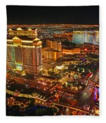 Caesars Palace On The Strip Fleece Blanket