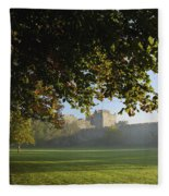 Cahir Castle Cahir, County Tipperary Fleece Blanket