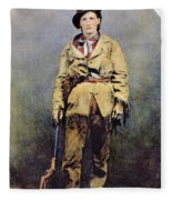 Calamity Jane (c1852-1903) Fleece Blanket