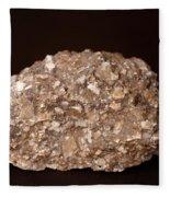 Calcite Under Visible Light Fleece Blanket