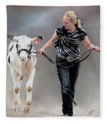 Calf Competition Fleece Blanket
