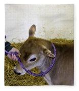 Calf Roping Fleece Blanket