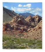 Calico Basin View Fleece Blanket
