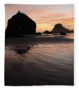 California Coast 2 Fleece Blanket