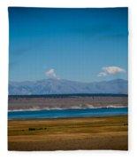 California Lake Fleece Blanket