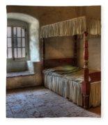 California Mission La Purisima Bedroom Fleece Blanket