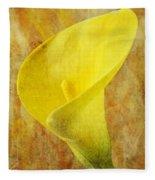 Calla Lily Beauty  Fleece Blanket