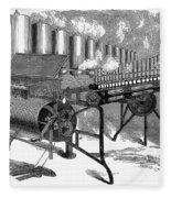 Calliope, 1859 Fleece Blanket