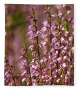 Calluna Vulgaris 2 Fleece Blanket