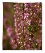 Calluna Vulgaris Fleece Blanket