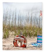 Calm By The Sea Fleece Blanket