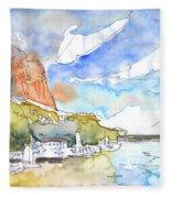 Calpe Harbour 06 Fleece Blanket