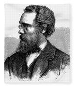 Calvert Vaux (1824-1895) Fleece Blanket