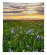 Camas Fields Fleece Blanket