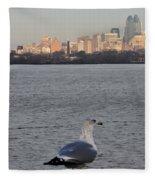 Camden Bird Fleece Blanket