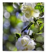 Camellia Thirteen Fleece Blanket
