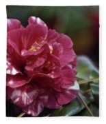Camellia Twenty-one  Fleece Blanket
