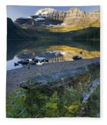 Cameron Lake, Alberta, Canada Fleece Blanket
