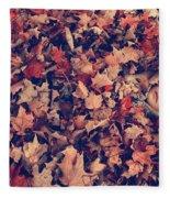 Camouflage 02 Fleece Blanket
