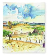 Campo Maior In Portugal 01 Fleece Blanket