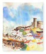 Campo Maior In Portugal 02 Fleece Blanket