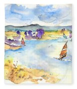 Campo Maior In Portugal 04 Fleece Blanket